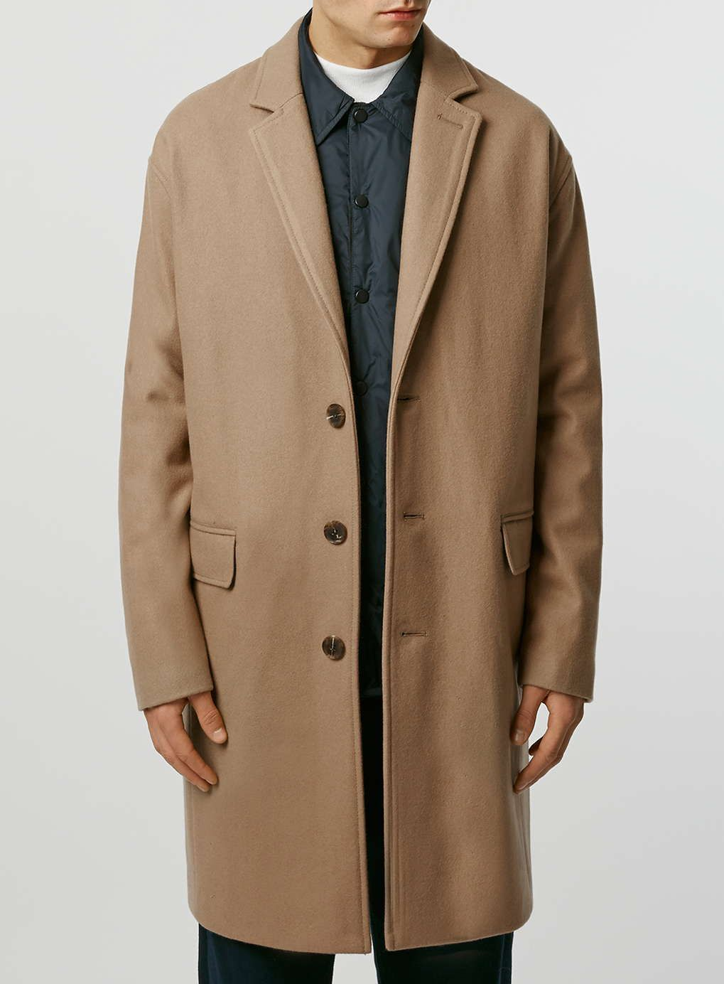 Limited Edition Camel Wool Rich with Cashmere Duster Coat