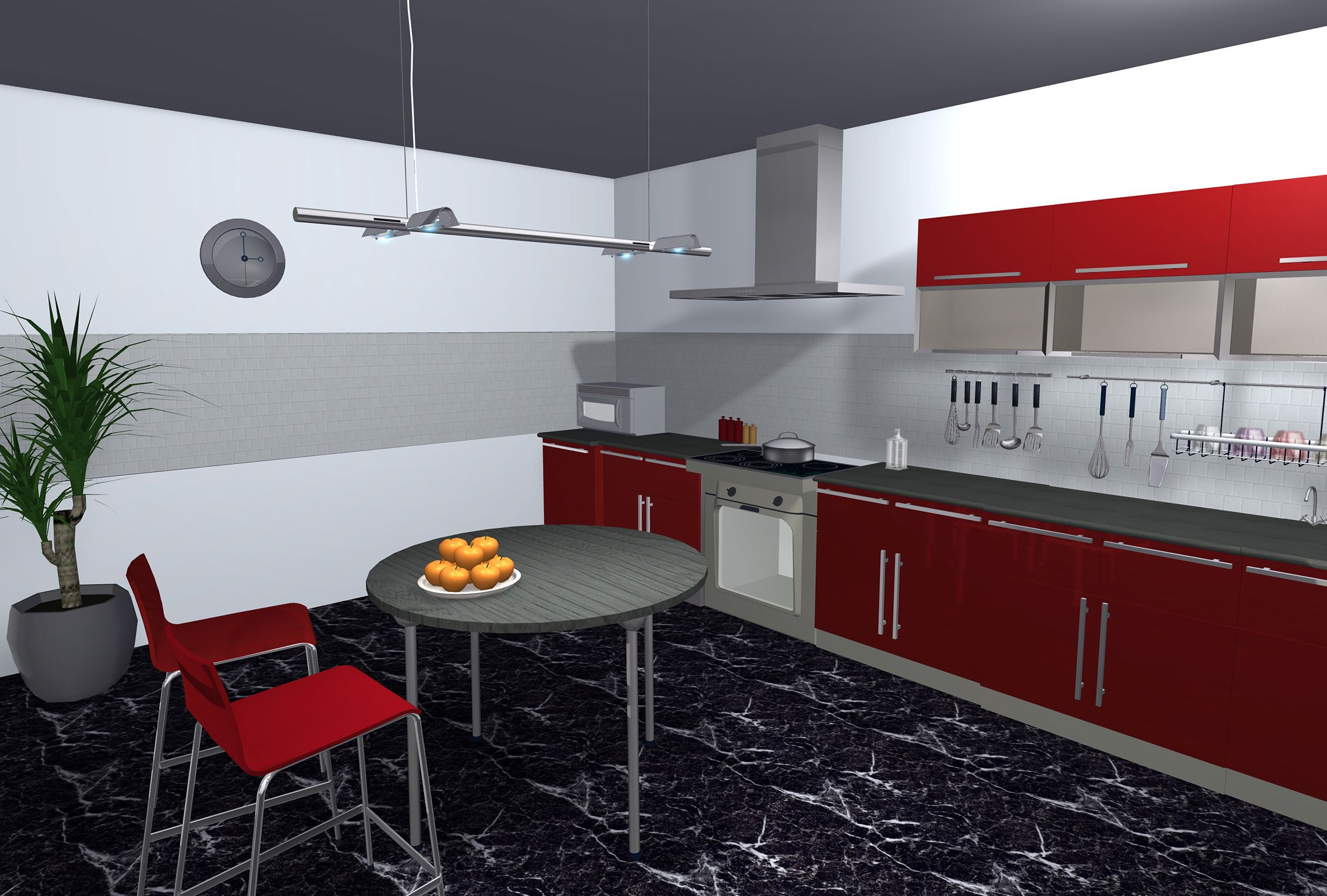 Create your kitchendesign with LiveHome3D for Mac and