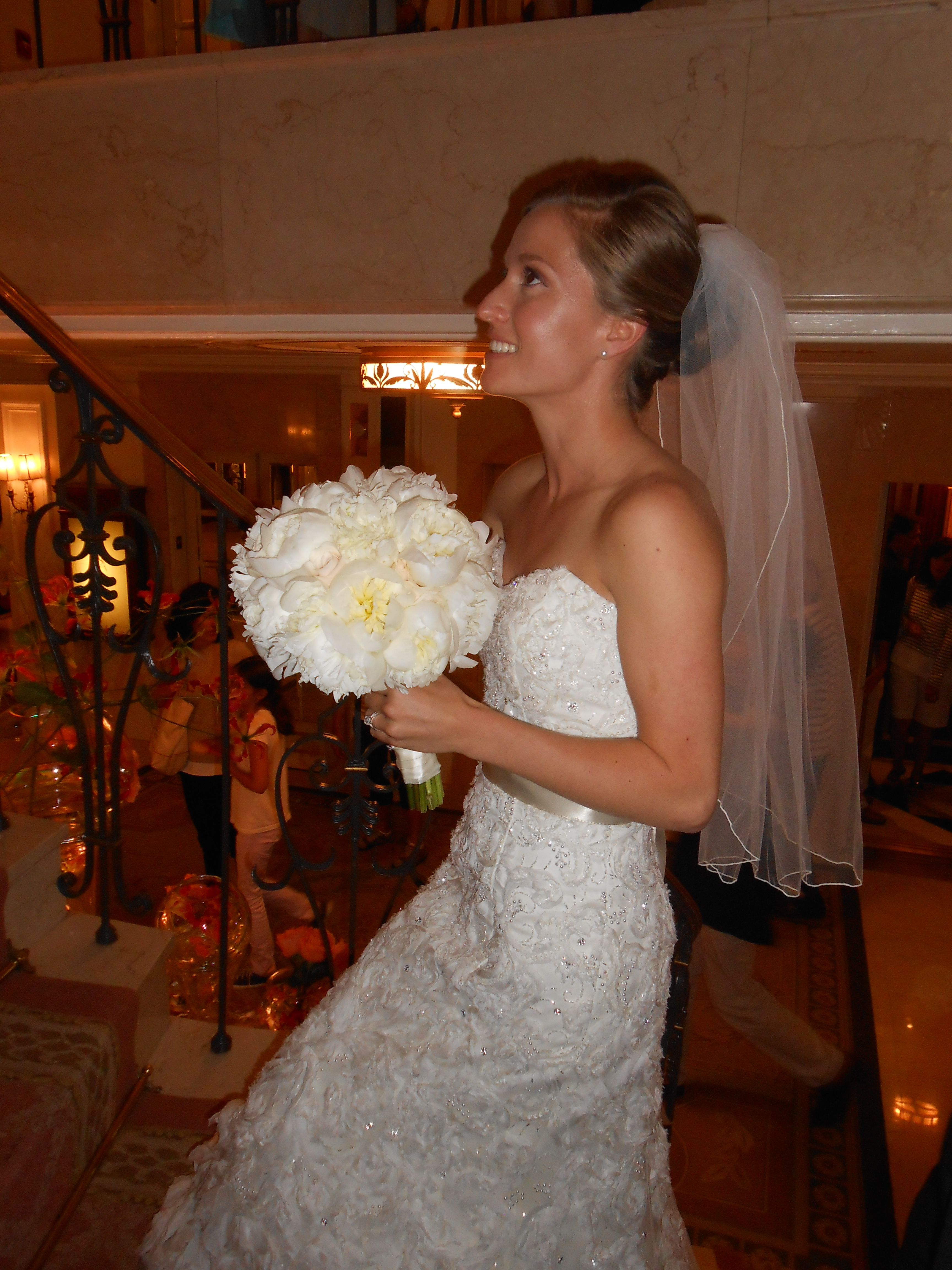 #Bride, Emily, happily #married