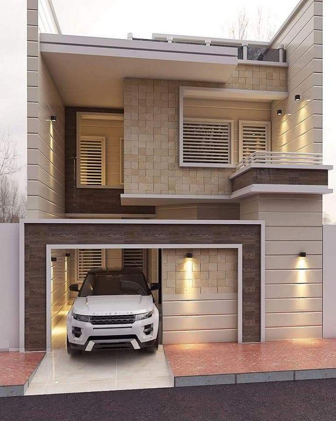 Meilleur extérieur de maison moderne sur le budget 12   Extérieurs de maison moderne, Maison ...
