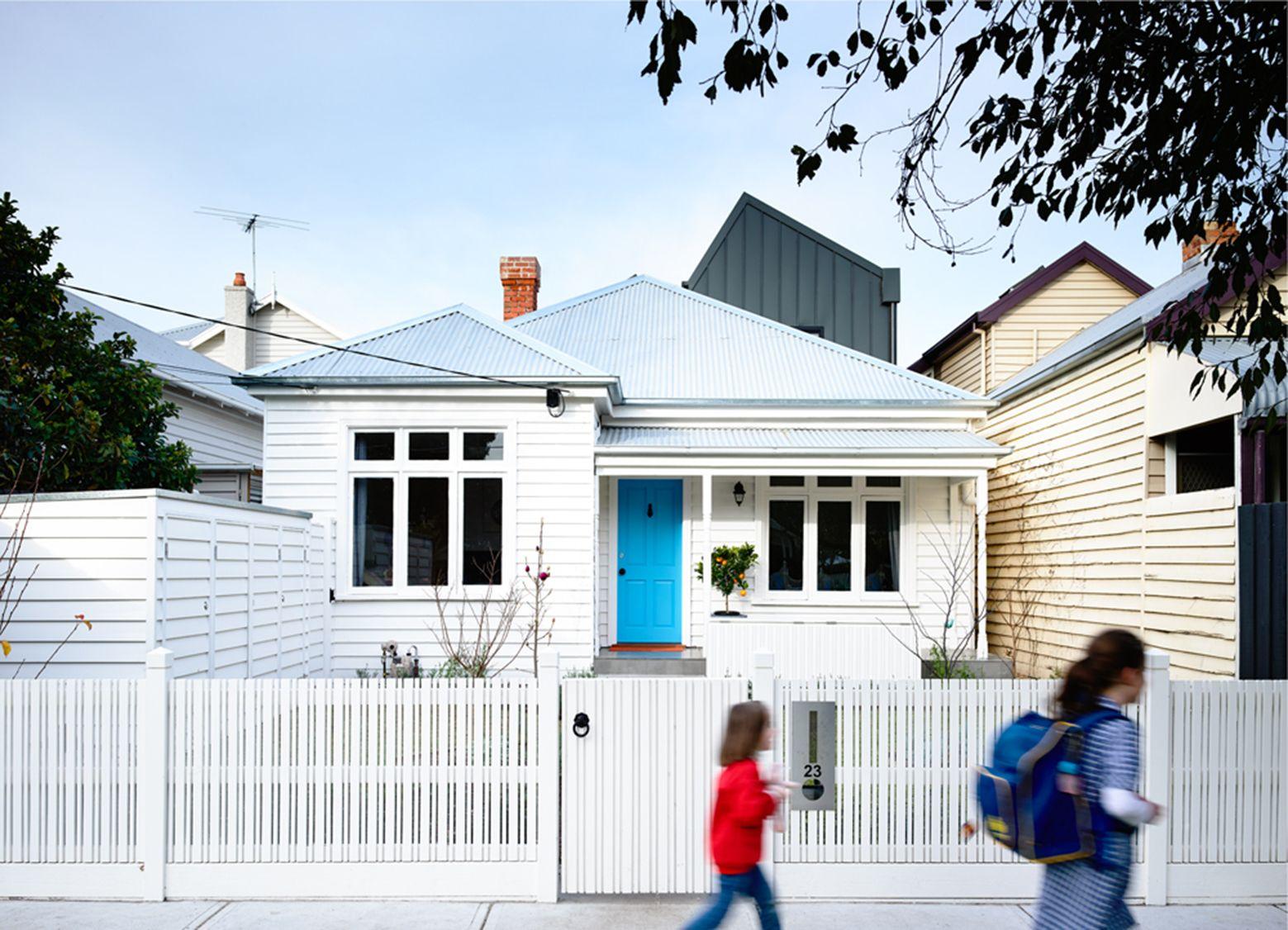 Set in sandringham australia this small house has had a twostorey