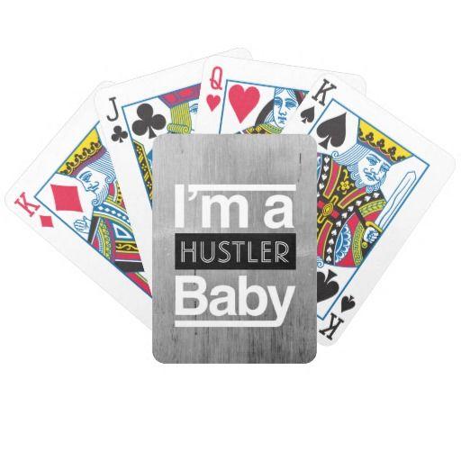 Hustler deck playing cards