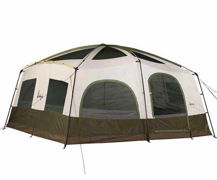 Slumberjack grand lodge 8 tent fits an entire soccer team (or family reunion!)  sc 1 st  Pinterest & Slumberjack grand lodge 8 tent: fits an entire soccer team (or ...