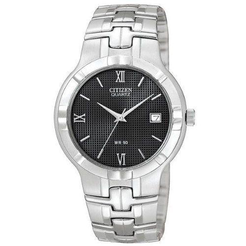 Low price Women Citizen Quartz Date Round Black Dial Men s Watch -  BK2320-52E  8dc873c06