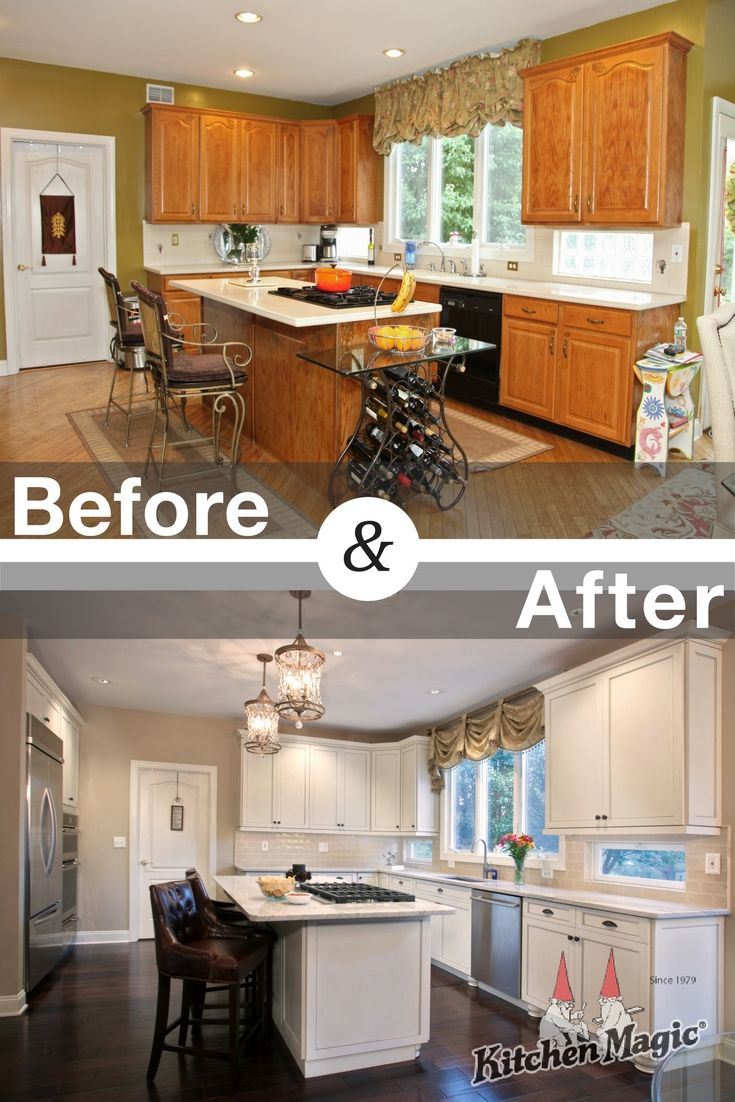 Goodbye dated oak this kitchen is transformed from s to state