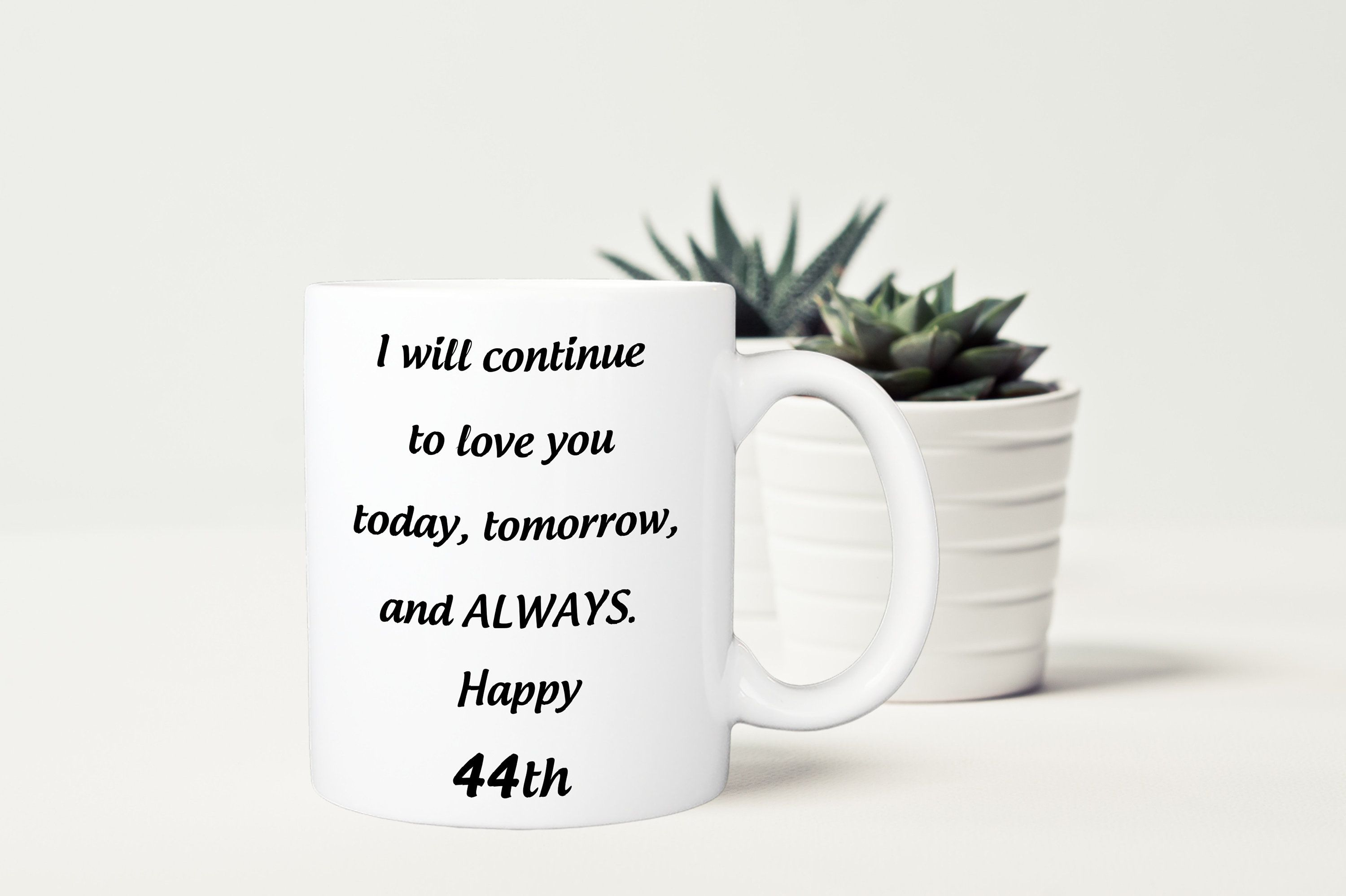 44th Anniversary Gift For Her, 44 Years Birthday Gift