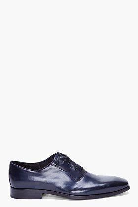 Bättre grundläggande muskel  TIGER OF SWEDEN Blue David 01 Derby Shoes