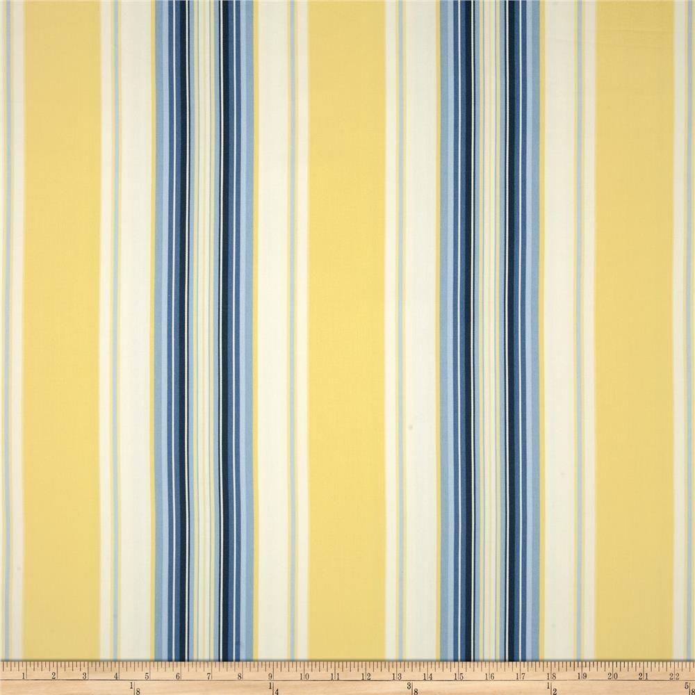 Blue Yellow Stripe Shower Curtain Blue Kitchen Curtains Blue