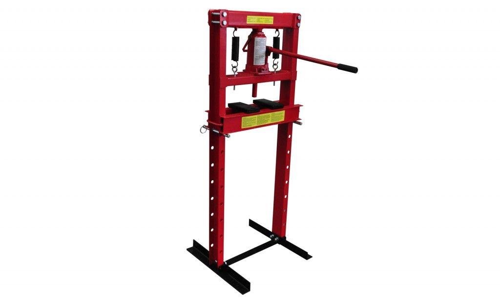 Presse hydraulique du0027atelier sur colonne u2013 12 tonnes Bricolage