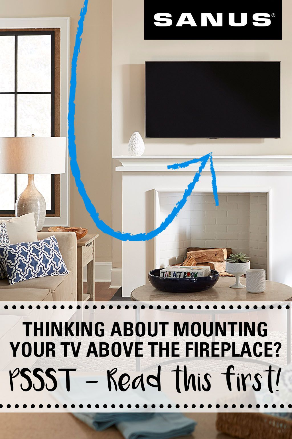 everything you need to know about mounting a tv over a fireplace