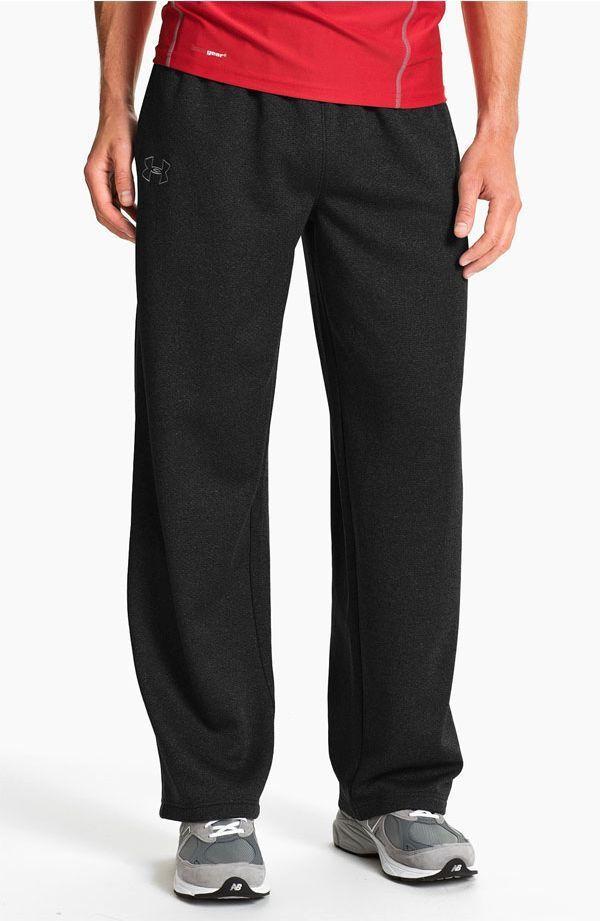 3e01ea8821 NEW Men's Under Armour UA Tech Fleece Pants Black Size Large 1234724 ...