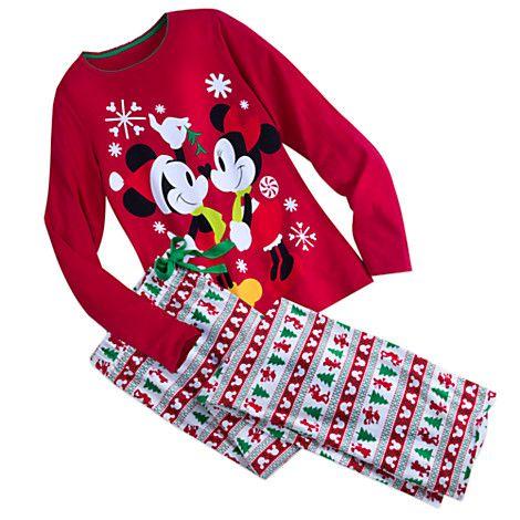 Mickey And Minnie Mouse Fun Family Pajamas for Women Disney