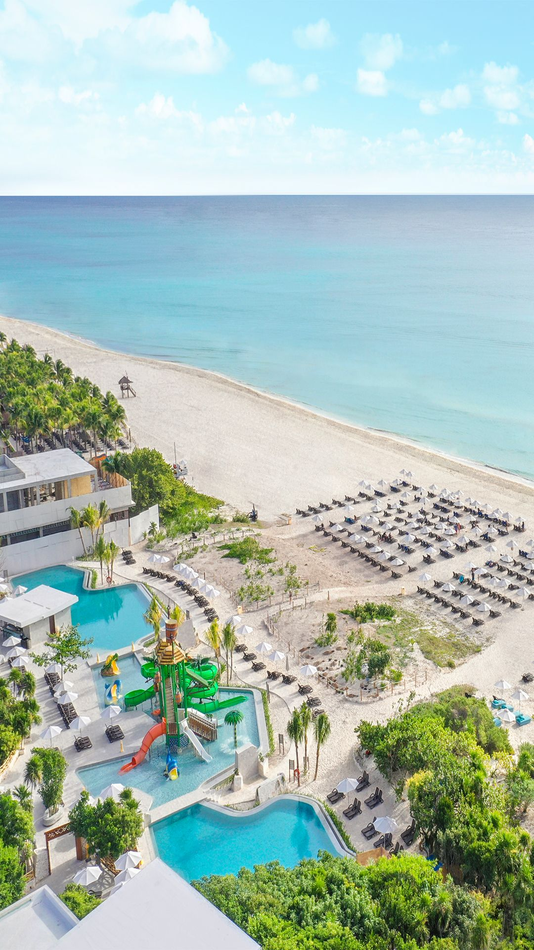 Cancun Vacations  Sandos Playacar Beach Resort  All