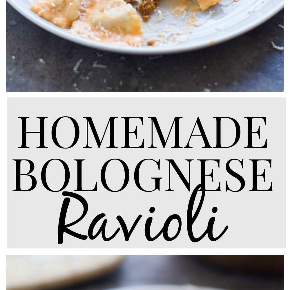 This Homemade Bolognese Ravioli pairs melt-in-your-mouth pasta sheets stuffed with an easy bolognese sauce turned filling, that will make you re-think the classic dish forever. It's soul-satisfying, hearty, and a perfect Sunday meal! As a food blogger and avid cook, I'm constantly getting probed on what my very favorite item to cook and eat is. [...]