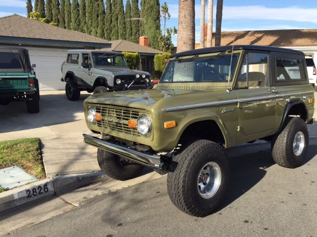 1973 Ford Bronco California Bronco Rust Free Great Daily Driver