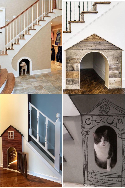 Niche Chien Maison Chat Amenager Un Dessous D Escalier Basement