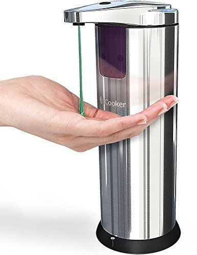 Icooker Soap Dispenser Automatic Kitchen Hand Touchless Sensor