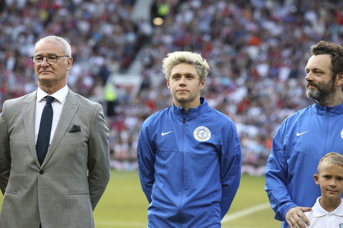 June 5: Niall at Soccer Aid 2016