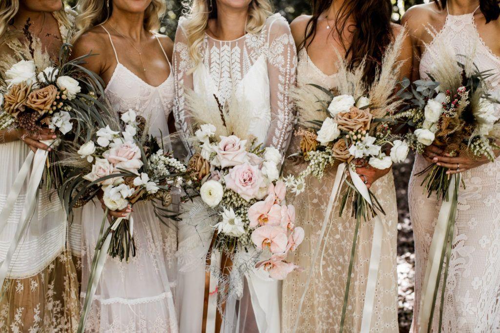 Australia Byron Bay Bridesmaid Dresses Boho Bridesmaid Bohemian Wedding