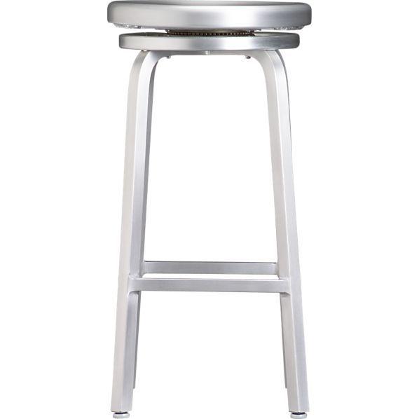 Spin Barstools In Barstools Crate Barrel Bar Stools