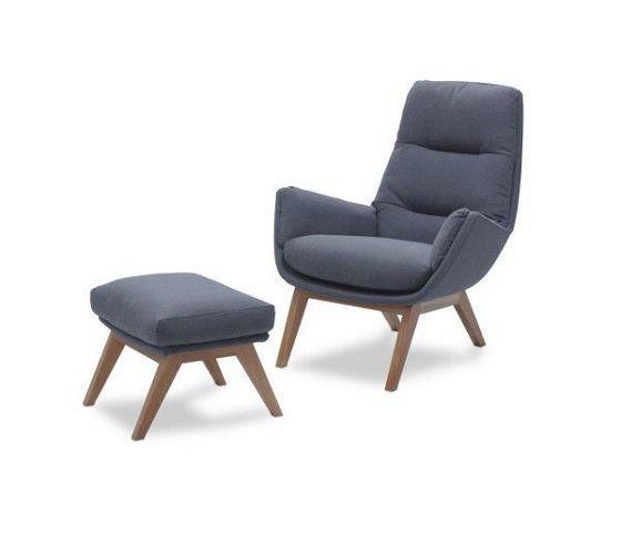 Schicker Sessel In Grau Und Braun Entspannung Mit Stil Living