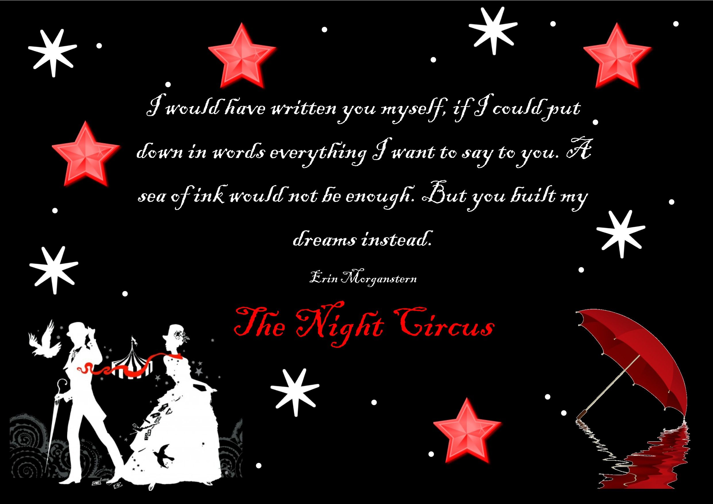 #TheNightCircus