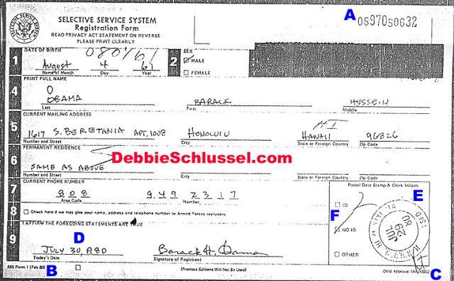 JOHN GAULTIERu0027S FEROCIOUS CONSERVATIVE BULLETIN PROOF POSITIVE - selective service registration form