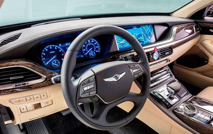 New Genesis Suv Interior Design Hyundai Genesis Bmw 7 Autos