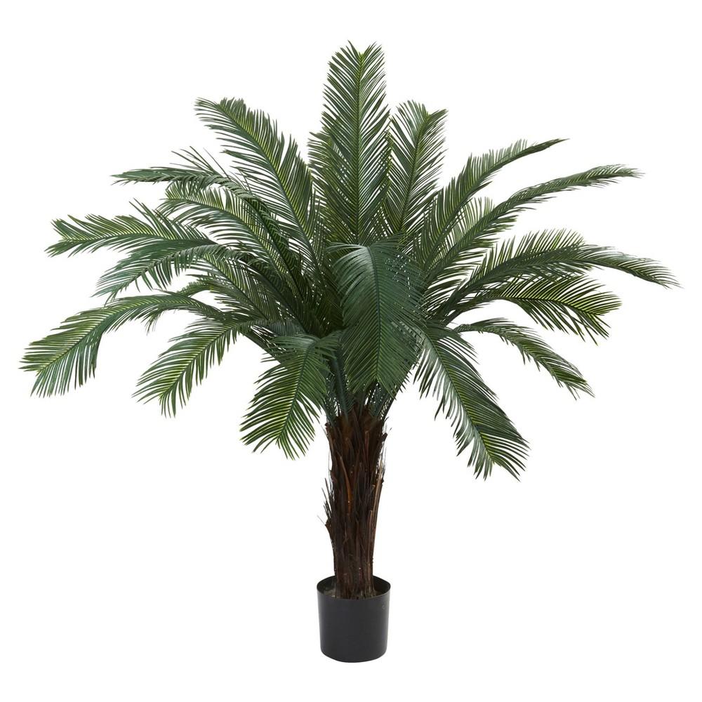 Artificial ft cycas tree uv resistant indooroutdoor nearly
