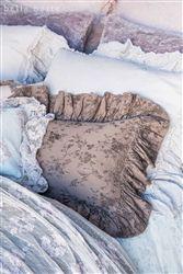 Feather Your Nest Austin   Pennelope Boudoir Pillow   Bella Notte   Pillows   Luxury Linens
