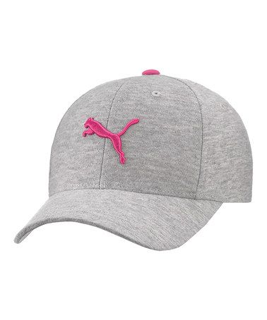 4a8d298da12 Take a look at this Gray   Pink Flashdance Baseball Cap - Women by PUMA on   zulily today!  15 !!