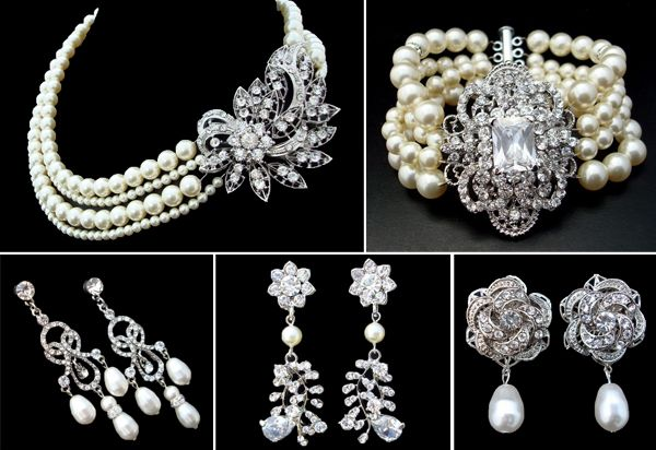 1920s wedding jewelryI think Im in love Wedding Wednesday