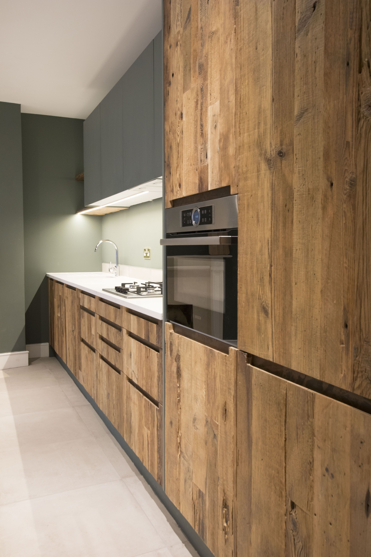 Grey Zebrawood Textured Wood Kitchen Cabinets Kitchen Cabinets Kitchen Design