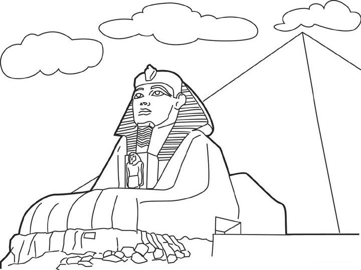 egyptian coloring pages free printable for kids on egypt coloring games - Egyptian Coloring Pages Printable