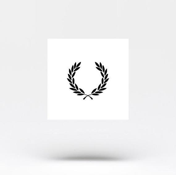 Laurel Wreath Temporary Tattoo (Set of 3)
