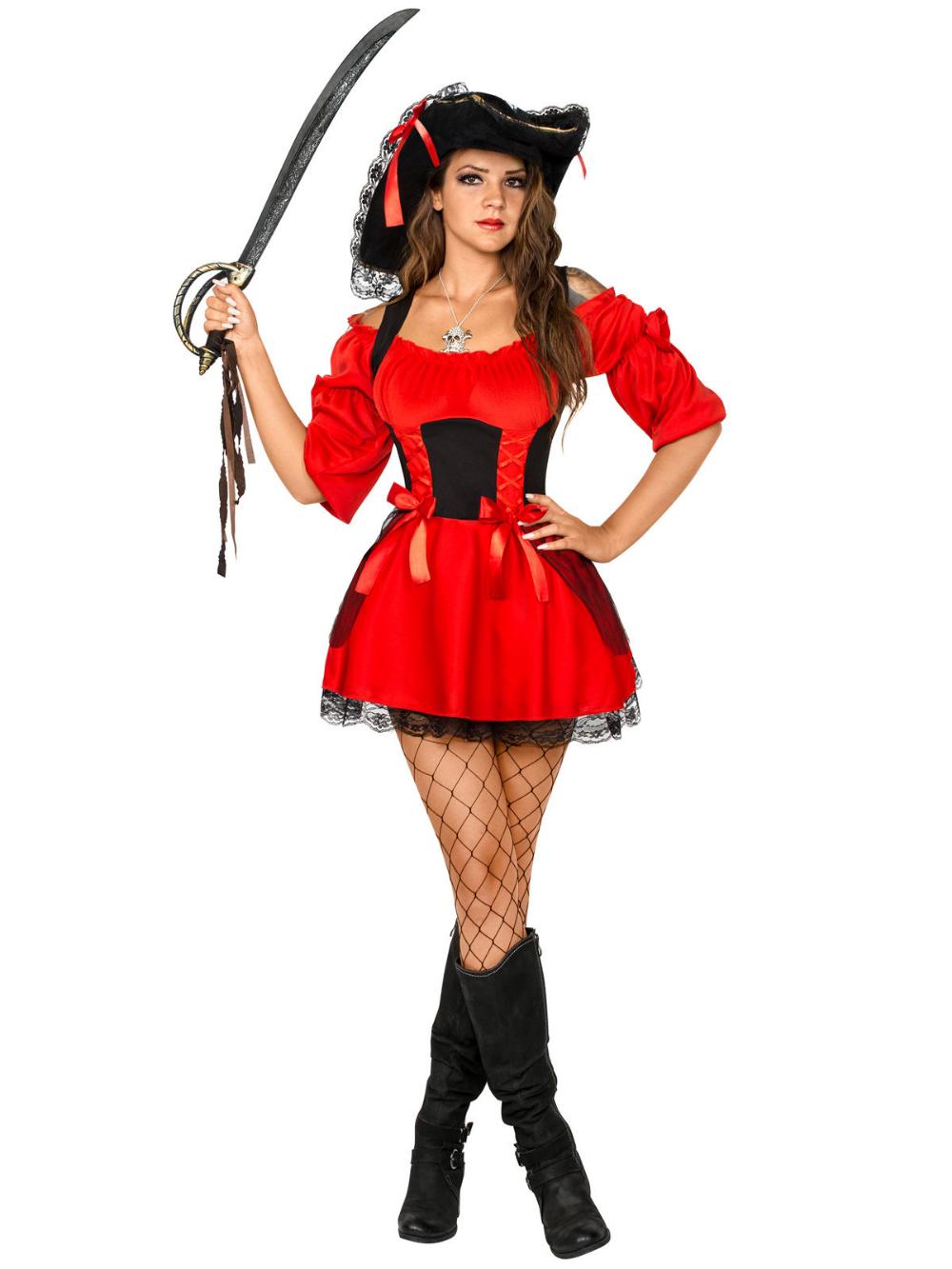 disfras mujer pirata sexi