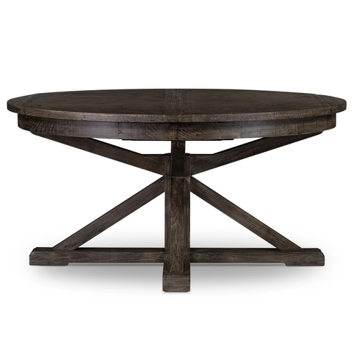 Cintra Reclaimed Wood Expandable Round Kitchen Table 47 In 2020 Reclaimed Wood Dining Table Round Kitchen Table Reclaimed Wood Round Dining Table