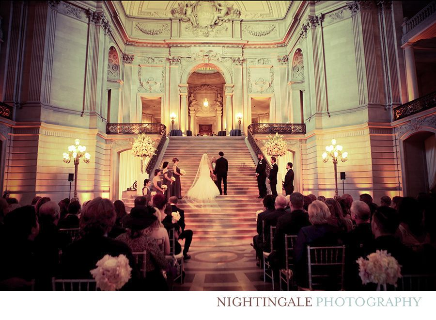 San Francisco City Hall Wedding Lauren And Zach By Nightingale Photography Napa Sonoma