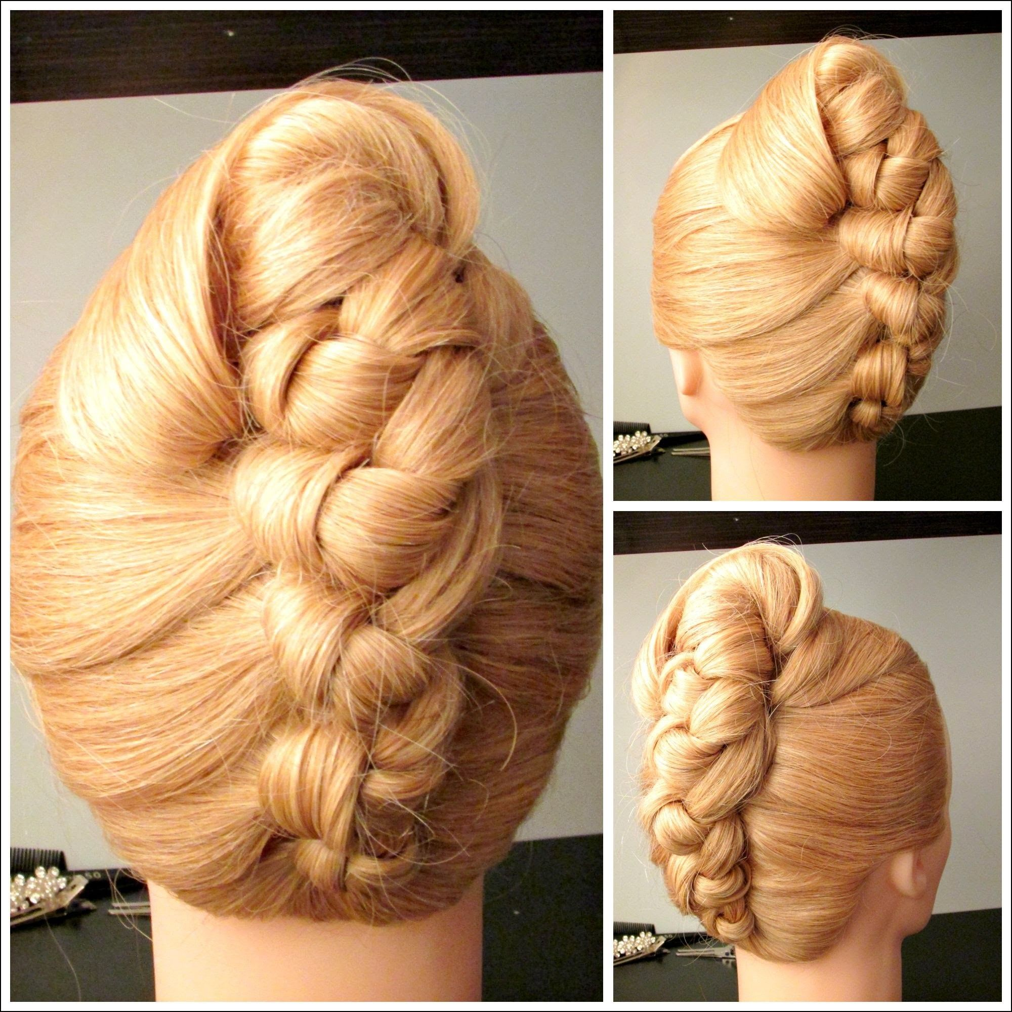 Wedding french roll hairstyle hairstyles ideas pinterest