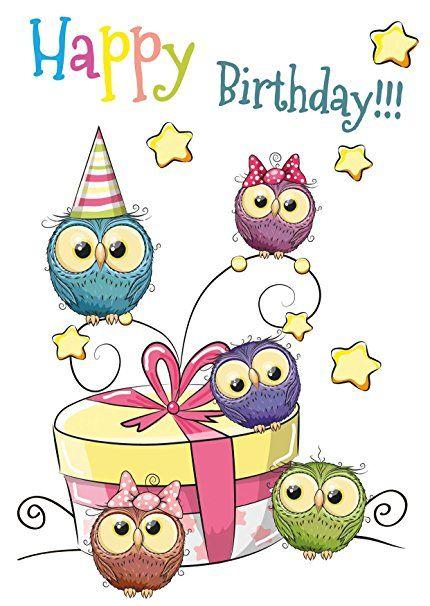 15 Geburtstagskarten Für Kinder 5 Motive Mit Jeweils 3