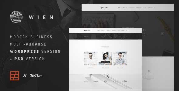 Download and review of Wien – Responsive & Multipurpose WordPress ...