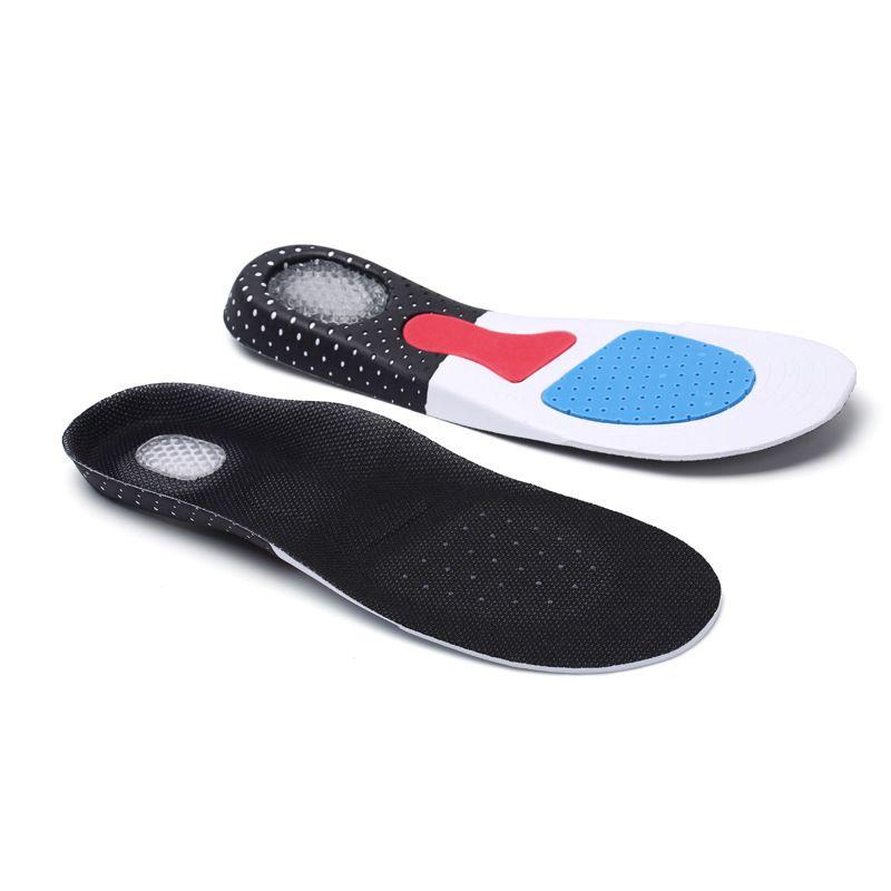 Unisex Men Women Sport Orthopaedic Gel Shoe Pads Foot Comfort Insoles NEW