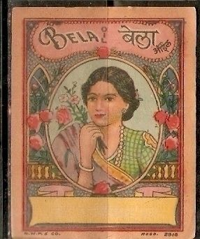 India Bela Vintage Trade Hair Oil Label Multi-colour - bidStart (item 31486526 in Collectibles & Ephemera... Labels)