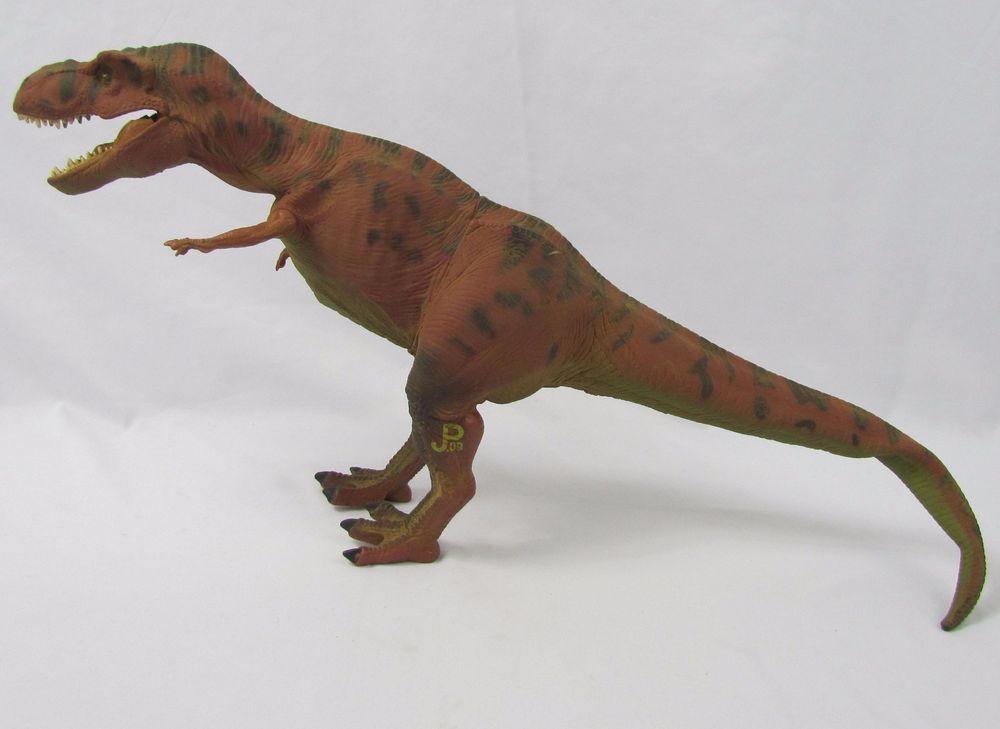 1993 Kenner Jurassic Park Red Tyrannosaurus T-rex JP 09 Toy Electronic Big