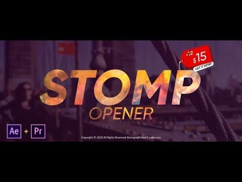 Stomp Opener Af Templates Videohive After Effects