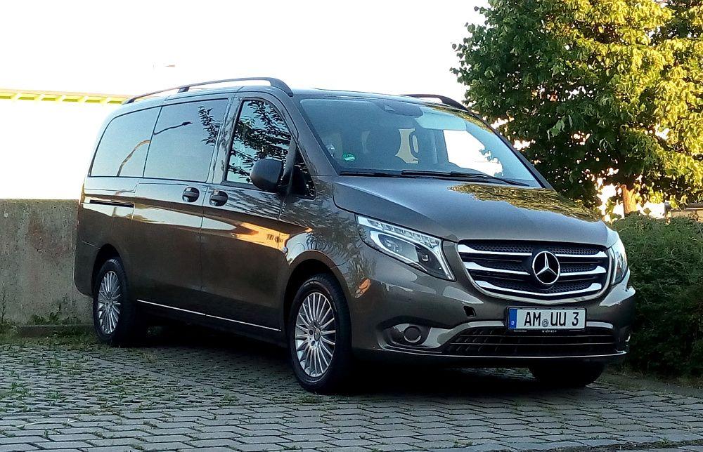 Unser Neuer Vito Tourer Avtomobil