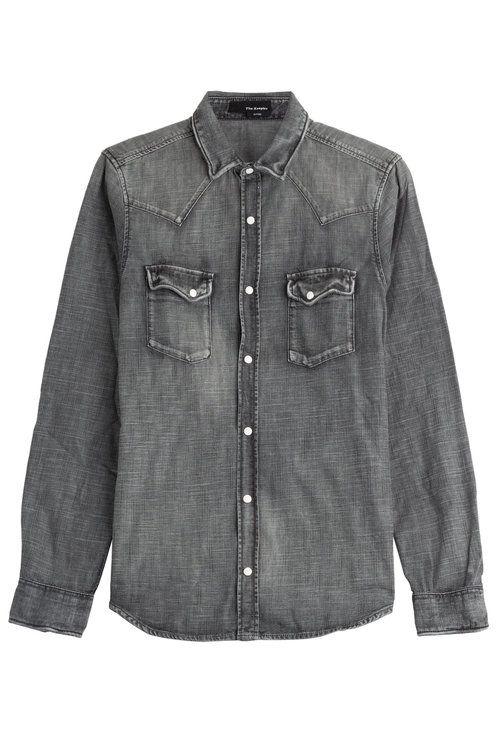 72033d83a3f THE KOOPLES Denim Shirt. #thekooples #cloth #   The Kooples Men ...
