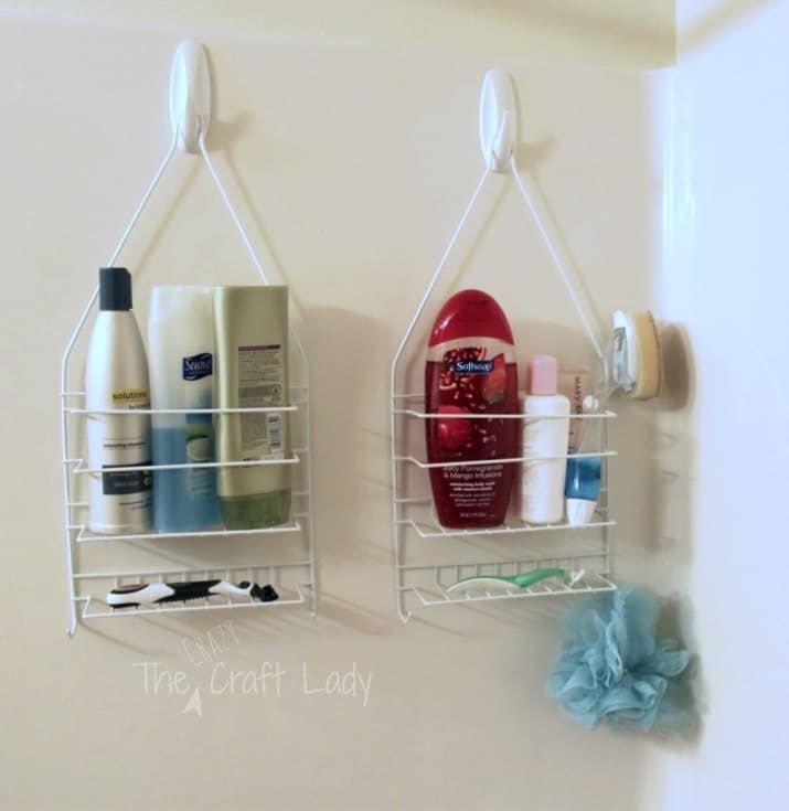 Find out more about how to do this here. You can get adhesive hooks at John Lewis for £4.