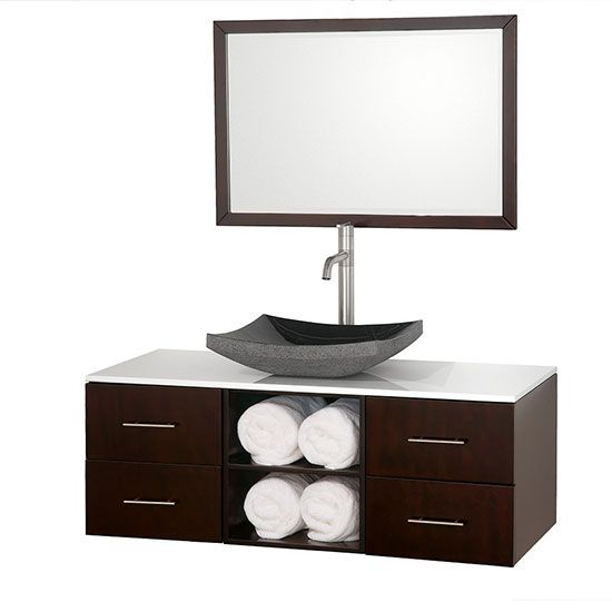 36+ Espresso bathroom cabinet wall mounted best
