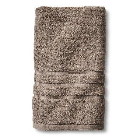 Fieldcrest® Luxury Hand Towel Weathered Gray Hand